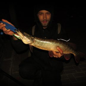 Ещё одна рыбалка, ещё одна рыба... 17.10