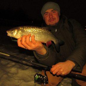 Последняя рыбалка января 28.01